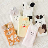 Kawaii Cartoon Coral Wool Socks SP1711192