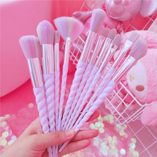 Load image into Gallery viewer, Unicorn Makeup Brush Set/Bag SP14045