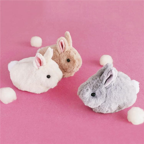 White/Grey Kawaii Rabbit Purse Cosmetic Bag SP1711563
