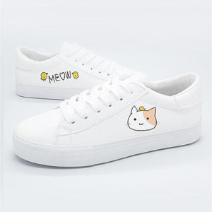 White Dear Rabbit Sneakers SP13482