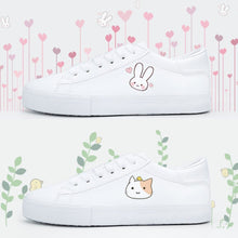 Load image into Gallery viewer, White Dear Rabbit Sneakers SP13482