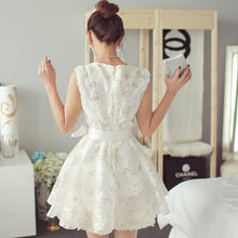Load image into Gallery viewer, White Sweet Lace Tulle Princess Dress SP1710905