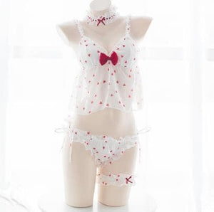 Sweet Strawberry Nightgown Set S13128