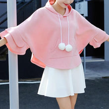 Load image into Gallery viewer, Winter Ruffle Fleece Hoodie Cape Cloak SP1710667