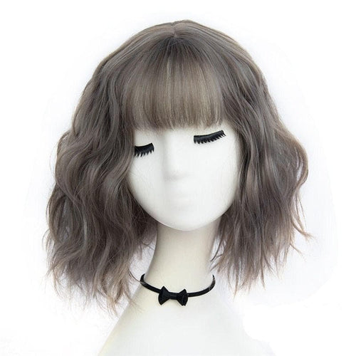 7 Colors High Temperature Short Wigs SP14657