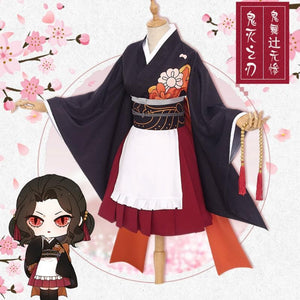 Demon Slayer Kibutsuji Muzan & Kochou Shinobu Cosplay Costume SP14714