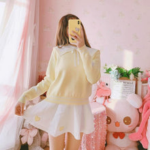 Load image into Gallery viewer, Pink/Yellow/White Sweet Wings Sweater Dress SP14609