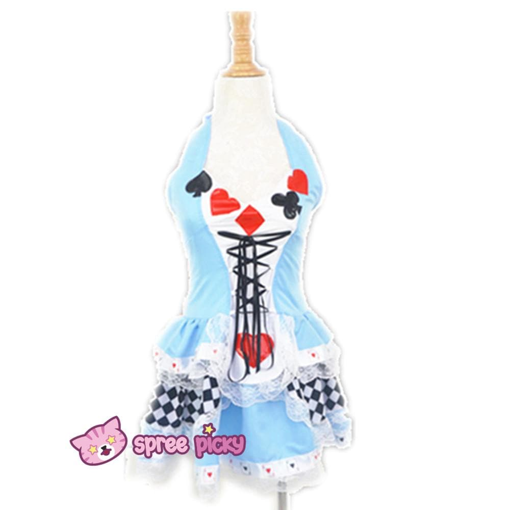 Cosplay Alice In Wonderland Poker Dress SP141067 - SpreePicky  - 1