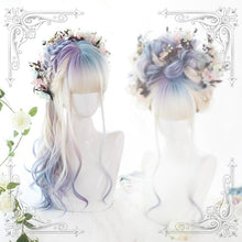 Load image into Gallery viewer, Gradient Mixed Color Lolita Long Curl Wig SP14542