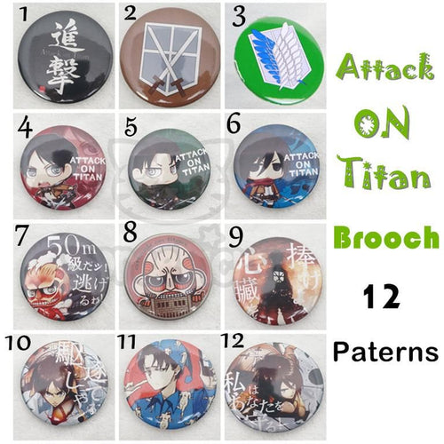 Attack On Titan Brooch Pin SP141480