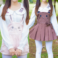 Bunny/Bear Suspender Pants SP153960/SP164939 - SpreePicky  - 1