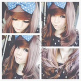 HARAJUKU Lolita cosplay Lovely curly brown wig SP130190 - SpreePicky  - 1
