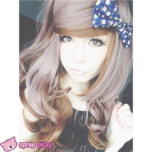HARAJUKU Lolita cosplay Lovely curly brown wig SP130190 - SpreePicky  - 5
