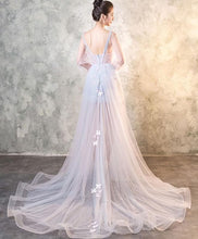 Load image into Gallery viewer, Cute Tulle Long Prom Dress, Evening Dress - DelaFur Wholesale