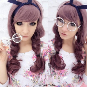 5 Colors Retro Big Round Eyes Glasses SP141333 - SpreePicky  - 2