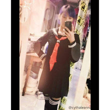 Load image into Gallery viewer, S-XL 3 colors Sailor Seifuku School Uniform Set SP153570 - SpreePicky  - 7