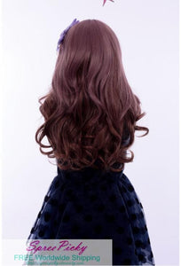 HARAJUKU Lolita cosplay Lovely curly brown wig SP130190 - SpreePicky  - 4