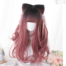 Load image into Gallery viewer, Carmine Carol Mixed Lolita Long Curl Wig SP14607