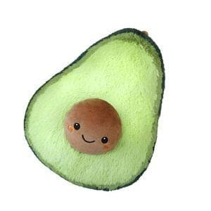 Avo-Cuddle Avocado Plush Pillow
