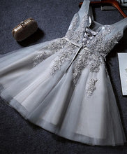 Load image into Gallery viewer, Cute A Line Tulle Lace Short Prom Dress SP15358 - Harajuku Kawaii Fashion Anime Clothes Fashion Store - SpreePicky