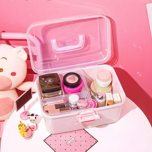 Cute Pink Storage Boxs SP14882
