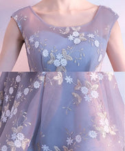 Load image into Gallery viewer, Cute Lace Round Neck Short Prom Dress, Homecoming Dress - DelaFur Wholesale