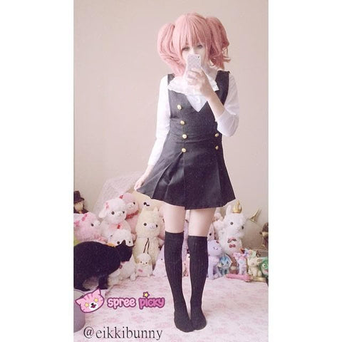 Cosplay Inu x Boku SS Roromiya Karuta and Shirakiin Ririchiyo Uniform Dress SP141201 - SpreePicky  - 3