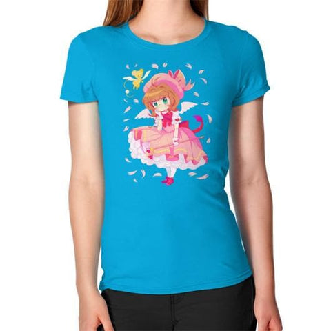 Wonderful Sakura Woman Tee Shirt - SpreePicky  - 15