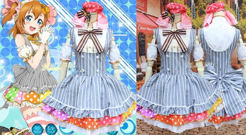 Cosplay [Love Live!] Kousaka Honoka Maid Dress SP153006 - SpreePicky  - 2
