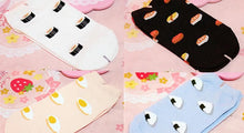 Load image into Gallery viewer, 4 Colors Cutie Japanese Sushi Short Socks SP153683 - SpreePicky  - 2