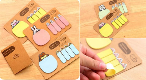 4 Colors Mori Girl Message Sticky Note SP153128 - SpreePicky  - 2