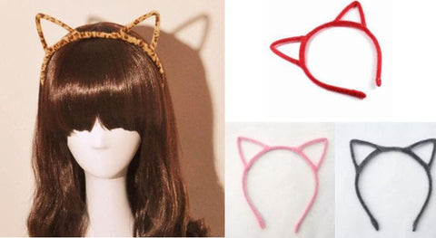 4 Colours Kawaii Kitty Ears Hair Band SP154106 - SpreePicky  - 2