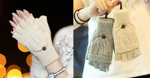 5 Colors Adorable Winter Knitted Gloves SP154064 - SpreePicky  - 2