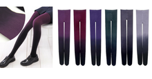 Load image into Gallery viewer, 6 Colors Gradual Color Tights SP153813 - SpreePicky  - 2