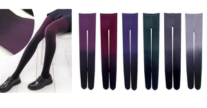 6 Colors Gradual Color Tights SP153813 - SpreePicky  - 2