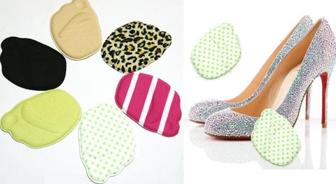 6 Colors Half Sole Insole Shoes Pad SP153275 - SpreePicky  - 2