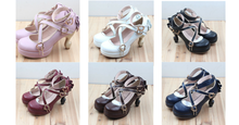 Load image into Gallery viewer, 6 Colors Lolita Table Leg High Heels Platform Shoes SP154528 - SpreePicky  - 2
