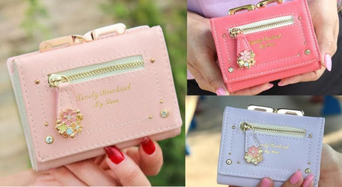 7 Colors Cutie Short Wallet Purse SP153526 - SpreePicky  - 2