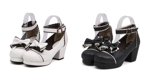 Black/White [Want a Date] Shoes SP153552 - SpreePicky  - 2