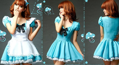 Blue Cutie Maid Dress SP141198 - SpreePicky  - 2