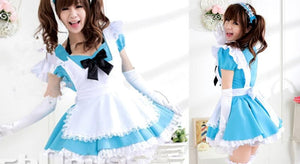 Blue Kawaii Maid Dress SP141200 - SpreePicky  - 3