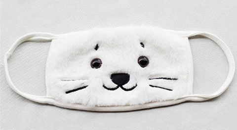 Kawaii Chibi Seal Face Mask SP164931 - SpreePicky  - 2
