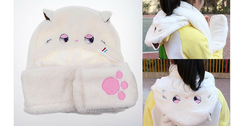 Kawaii Plush 3 Using Scarf/Hat/Gloves SP164812 - SpreePicky  - 2