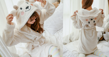 Load image into Gallery viewer, Kawaii Sheep Fleece Hoodie Pajamas Coat SP164912 - SpreePicky  - 2