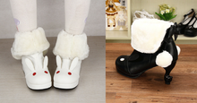 Load image into Gallery viewer, Lolita Kawaii Rabbit Snow Boots with Bowknot SP165020