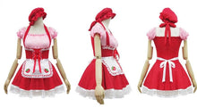 Load image into Gallery viewer, Lolita Miss Pinky Strawberry Maid Dress with Apron SP153692 - SpreePicky  - 2