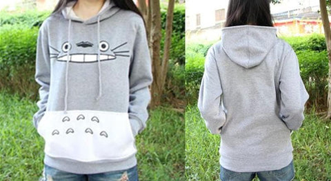 M-XXL Totoro Hooded Sweater SP153658 - SpreePicky  - 2
