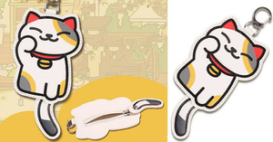 [Neko Atsume] Kawaii Neko Cat Ms. Fortune Coin Purse SP165245