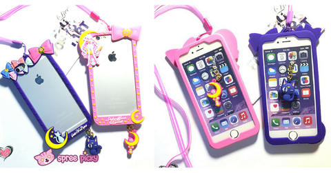 Pink/Purple [Sailor Moon] Iphone 6/Iphone 6 Plus Phone Case SP154280 - SpreePicky  - 3
