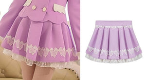 S/M/L Purple Elegant Skirt SP153621 - SpreePicky  - 2